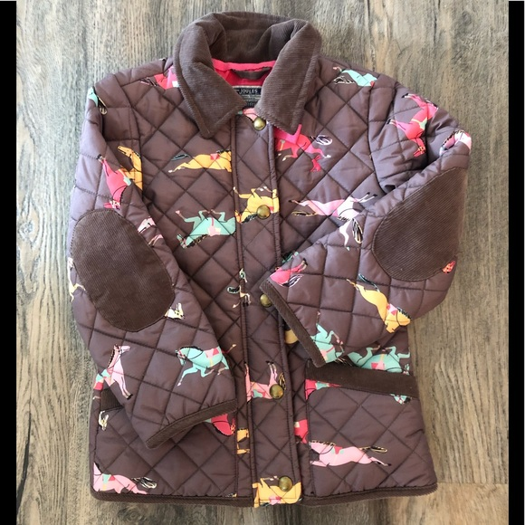 special for shoe shop for luxury 100% satisfaction guarantee Toddler girls Joules quilted jacket